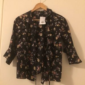 Brand New Topshop wrap top. Size 4